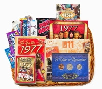 40th Gift Basket for Birthday or Anniversary