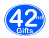 42nd Birthday Gifts, 42nd Anniversary Gifts