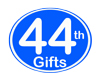 44th Birthday Gifts, 44th Anniversary Gifts