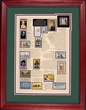 47th Gift Idea - 1967 Stamp Art -ON SALE!