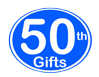 50th Birthday Gifts, 50th Anniversary Gifts