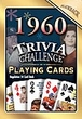 53rd Birthday Cards: 1960 Trivia Playing Cards