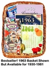 65th Gift Basket: 1950 Gift Basket