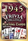 70th Birthday Cards: 1945 Trivia Playing Cards