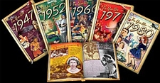 Books for Year You Were Born or Year Married