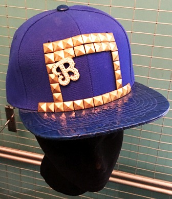 Blue Gold Nugget B Cap