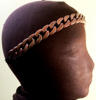Chain Headband Bronze Free