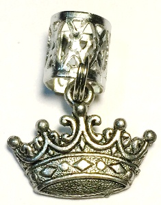 Crown Hair Charm