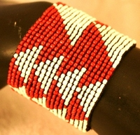 South African Cuff Red
