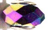 Facet Purple Crystal Band