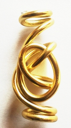 Gold Freestyle Wire Jewelry 1