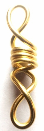 Gold Freestyle Wire Jewelry 2