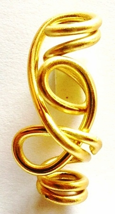 Gold Freestyle Wire Jewelry 4