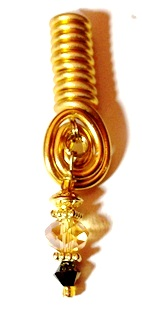 Gold Sunlight Coil Charm