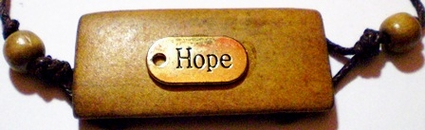 Hope Brass Tag Oak