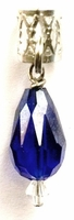 Royal Blue Crystal Teardrop