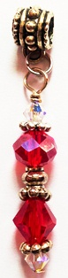 Ruby Red Crystal