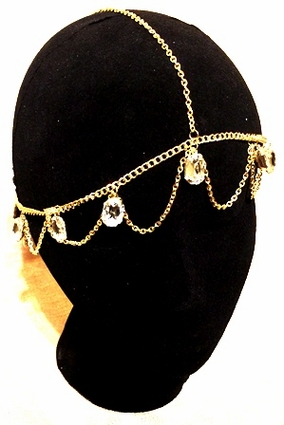 White Crystal Gem Headdress