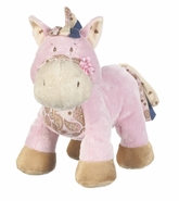 Baby Ganz Wee Western Horse with Rattle - Pink