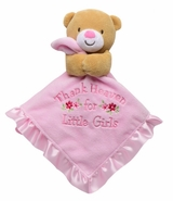Baby Starters Snuggle Buddy Thank Heaven For Little Girls Blanket