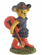 Boyds Bears Paisley Country Music Girl Bearstone Figurine