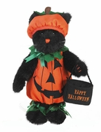 Boyds Bears Frisky Punkinbottom Halloween Cat