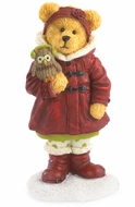 Boyds Bears Holiday Goodfriends Heidi with Hoo Owl Figurine