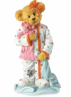 Boyds Bears Pajama Party Goodfriend Bearstone Figurine
