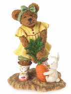 Boyds Bears Sophie Sowinseed With Hopper Figurine