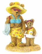 Boyds Bears Sunny Beachbeary with Sandy Bearstone Figurine