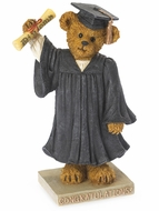 "Boyds Bears The Graduate ""Time to Celebrate"" Resin Figurine"