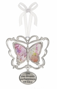 Ganz 3D Butterfly Ornament -  Live your dreams