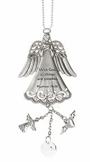 Ganz Angel Car Charms - With God all things are possible