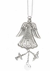 Ganz Angel Charm - May God and His Angels Watch Over You