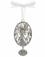 Ganz Angel Ornaments - Blessed to have a Mom like you
