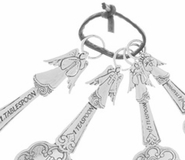 Ganz Measuring Spoons - Angels with Crosses
