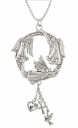 Ganz Car Charms - Three Angels