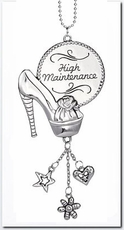 Ganz Car Charms - High Maintenance