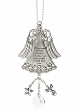 Ganz Car Charms - Wherever you go may your angel watch over you