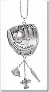 Ganz Car Charms - Baseball Glove