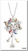 Ganz Car Charms - Celestial Sun Color Art