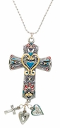 Ganz Car Charms - Color Art Cross