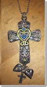 Ganz Cross Color Art Car Charms