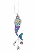 Ganz Car Charms - Color Art Mermaid