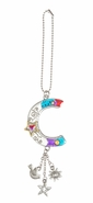 Ganz Car Charms Color Art Monogram Letter - C