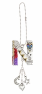 Ganz Car Charms Color Art Monogram Letter - N