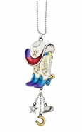 Ganz Car Charms - Cowboy Boots and Hat with Color