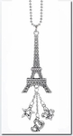 Ganz Car Charms - Eiffel Tower