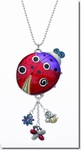 Ganz Car Charms Ladybug Color Art