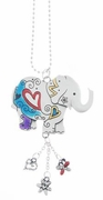 Ganz Color Art Car Charms - Lucky Elephant